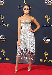 Olivia Culpo arriving for The 68th Emmy Awards at the Microsoft Theater, LA Live, Los Angeles, 18th September 2016.