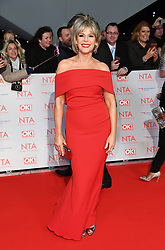 Ruth Langsford attending the National Television Awards 2018 held at the O2, London. Photo credit should read: Doug Peters/EMPICS Entertainment