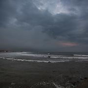 Today's   sunrise at Narragansett Town Beach,  .  June  29, 2013.