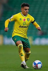 Max Aarons of Norwich City - Mandatory by-line: Phil Chaplin/JMP - 07/11/2020 - FOOTBALL - Carrow Road - Norwich, England - Norwich City v Swansea City - Sky Bet Championship