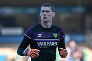 Portrait of Norwich City goalkeeper Daniel Barden (50) during the EFL Sky Bet Championship match between Wycombe Wanderers and Norwich City at Adams Park, High Wycombe, England on 28 February 2021.
