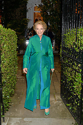 PRINCESS MICHAEL OF KENT attending Annabel Goldsmith's Summer party held at her home in Ham, Surrey on 10th July 2014.