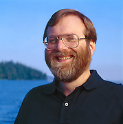 Paul Allen, co-founder of Microsoft and billionaire.  Photographed at his home on Mercer Island.