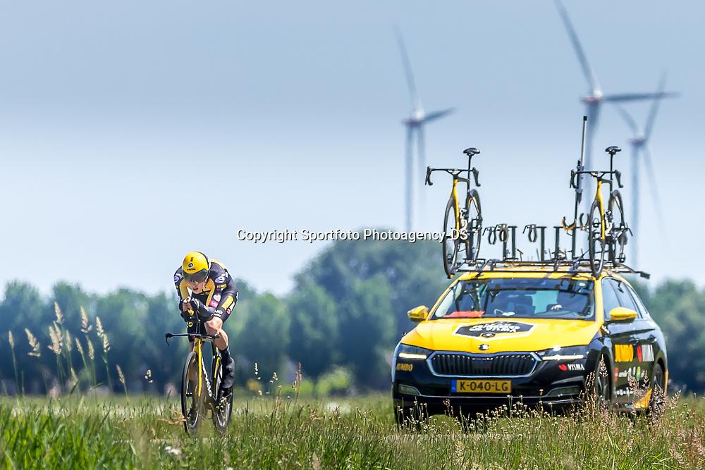 EMMEN (NED) June 16: <br />CYCLING <br />Dutch Nationals Time Trail men U23 <br />Mick van Dijke