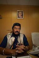 Ramdas Bandu Athawale, ledare för daliter och det indiska Republikanska Partiet. Bombay (Mumbai), Indien<br /> COPYRIGHT 2009 CHRISTINA SJÖGREN<br /> ALL RIGHTS RESERVED