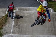 #77 (SAKAKIBARA Kai) AUS during round 4 of the 2017 UCI BMX  Supercross World Cup in Zolder, Belgium.