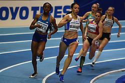 March 2, 2018 - Birmingham, Gangwon, United Kingdom - Maria Belimpasaki ofGreece at 400 meter, heat 1, at World indoor Athletics Championship 2018, Birmingham, England on March 2, 2018. (Credit Image: © Ulrik Pedersen/NurPhoto via ZUMA Press)