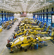 Apache Attack Helicopter manufacturing.