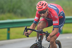 September 15, 2017 - Chenghu City, United States - Mikhail Shemetau from Minsk Cycling CLub team during the fourth stage of the 2017 Tour of China 1, the 3.3 km Chenghu Jintang individual time trial. .On Friday, 15 September 2017, in Jintang County, Chenghu City,  Sichuan Province, China. (Credit Image: © Artur Widak/NurPhoto via ZUMA Press)