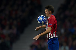 November 28, 2018 - Madrid, Spain - Santiago Arias of Atletico Madrid during the UEFA Champions League match between Atletico Madrid and AS Monaco at Wanda Metropolitano Stadium in Madrid, Spain on November 28, 2018  (Credit Image: © Jose Breton/NurPhoto via ZUMA Press)