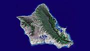 Island of Oahu, Hawaii. January 13, 2010.