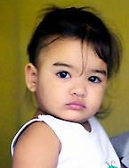 Young girl in Gibara, Holguin, Cuba.