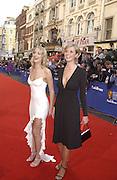 Elize Du Toit and Ali Bastian . TV Bafta Awards. 21 April 2002. © Copyright Photograph by Dafydd Jones 66 Stockwell Park Rd. London SW9 0DA Tel 020 7733 0108 www.dafjones.com