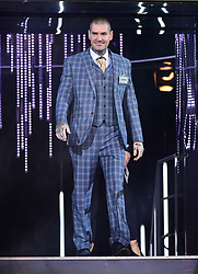 Shane Lynch enters the house during the Celebrity Big Brother Men's Launch held at Elstree Studios in Borehamwood, Hertfordshire.