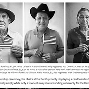 Personal project documenting a voter registration battle for newly sworn-in Americans. Story and Photos published by PRI (Public Radio International)