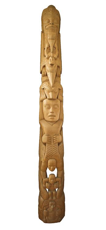 Totem by Stephen Jackson at Mount Roberts Tramway, Juneau, Alaska