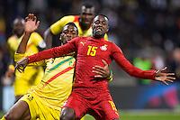 Boakye Yiadom / Wague Mollat  - 31.03.2015 - Ghana / Mali  - Match amical<br /> Photo : Andre Ferreira / Icon Sport