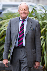 © Licensed to London News Pictures . 29/09/2017 . Torquay , UK . NEIL HAMILTON arrives at the conference . UKIP is due to announce the winner of a leadership election which has the potential to split the party . Photo credit: Joel Goodman/LNP