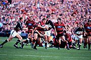 Mark Hammett.<br /> Canterbury Crusaders v Coastal Sharks Semi final at Lancaster Park, Christchurch on 23rd May 1998.<br /> Super 12 Rugby Union.<br /> Copyright photo: Scott Barbour / www.photosport.co.nz