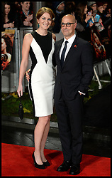 Stanley Tucci arrives for The Hunger Games: Catching Fire premiere, Leicester Square, London, United Kingdom. Monday, 11th November 2013. Picture by Andrew Parsons / i-Images