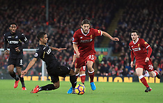Liverpool v Swansea City - 26 Dec 2017