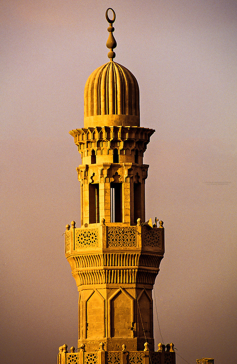 Minaret, The Citadel, Islamic Cairo, Cairo, Egypt