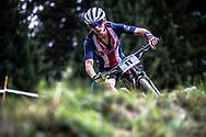 Madeline Robbins (USA) at the 2018 UCI MTB World Championships - Lenzerheide, Switzerland