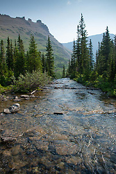 St. Mary River, Glacier National Park, Montana, US