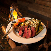 """""""The Blacksmith"""" signature steak salad at The Blacksmith in Jackson, Tennessee. Nathan Lambrecht/Journal Communications"""