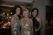 CHRISTINA ESTRADA, IVANA TRUMP AND MISCHA SUNSTAD , Grosvenor House Art & Antiques Fair charity gala evening in aid of Coram Foundation. Grosvenor House. Park Lane. London. 14 June 2007.  -DO NOT ARCHIVE-© Copyright Photograph by Dafydd Jones. 248 Clapham Rd. London SW9 0PZ. Tel 0207 820 0771. www.dafjones.com.