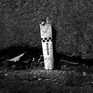 smokers' detritus