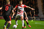 James Coppinger of Doncaster Rovers (26) in action during the EFL Sky Bet League 1 match between Doncaster Rovers and Sunderland at the Keepmoat Stadium, Doncaster, England on 23 October 2018.