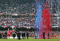 Photo: Chris Ratcliffe.<br />Liverpool v West Ham United. The FA Cup Final. 13/05/2006.<br />Liverpool are presented with the FA Cup.