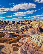 Badlands in Petrified Forest National Park.