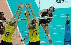 27-08-2010 VOLLEYBAL: WGP FINAL BRAZIL - USA: BEILUN NINGBO<br /> USA beats Brazil in five sets / Jordan Larson<br /> ©2010-WWW.FOTOHOOGENDOORN.NL