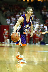 30 January 2007: Jason Holsinger. The Purple Aces of Evansville folded the final 2 minutes of play and handed the game to Illinois State University Redbirds by a score of 65-61at Redbird Arena in Normal Illinois.