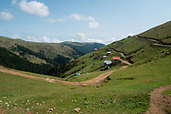 Alaca Yaylası, a small community living high up in the Pontic mountains near Turkey's northern Black Sea coastline. The village is home to many people who communicate via whistling on a daily basis.