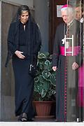 Staatsbezoek van Koning en Koningin aan de de Heilige Stoel in Vaticaanstad  /// State visit of King and Queen to the Holy See in Vatican City<br /> <br /> Op de foto / On the photo:  Koning Willem-Alexander en koningin Maxima brengen een bezoek aan de Kerk der Friezen tijdens hun staatsbezoek aan Vaticaanstad<br /> <br /> King Willem-Alexander and Queen Maxima visit the Church of the Frisians during their state visit to Vatican City