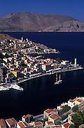 Symi harbour, Symi, Greece