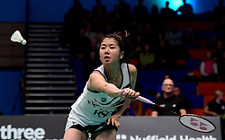 Mizuki Fuji of Bristol Jets in action  - Photo mandatory by-line: Robbie Stephenson/JMP - 07/11/2016 - BADMINTON - University of Derby - Derby, England - Team Derby v Bristol Jets - AJ Bell National Badminton League