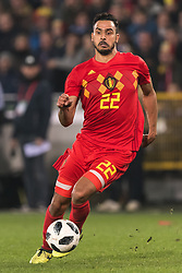Nacer Chadli of Belgium during the friendly match between Belgium and Japan on November 14, 2017 at the Jan Breydel stadium in Bruges, Belgium.