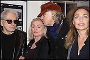 CHRIS STEIN; DEBBIE HARRY; SIR BOB GELDOF; JEANNE MARINE, Chris Stein / Negative: Me, Blondie, and The Advent of Chris Stein / Negative: Me, Blondie, and The Advent of Punk - private view, Somerset House, the Strand. London. 5 November 2014.
