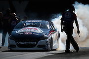 April 22-24, 2016: NHRA 4 Wide Nationals: Shane Gray, Pro Stock burnout