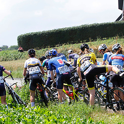 ZULTE (BEL) July 11 CYCLING: <br /> 4th Stage Baloise Belgium tour <br /> Rider after a crash