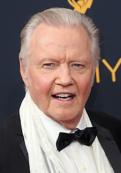Jon Voight arriving for The 68th Emmy Awards at the Microsoft Theater, LA Live, Los Angeles, 18th September 2016.