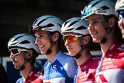 Adria Mobil team of SLO before 2nd Stage of 26th Tour of Slovenia 2019 cycling race between Maribor and Celje (146,3 km), on June 20, 2019 in  Slovenia. Photo by Peter Podobnik / Sportida