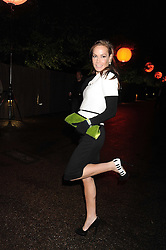TARA PALMER-TOMPKINSON at the annual Serpentine Gallery Summer Party in Kensington Gardens, London on 9th September 2008.