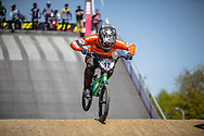 #12 (BENSINK Niels) NED during practice of Round 3 at the 2018 UCI BMX Superscross World Cup in Papendal, The Netherlands