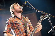 Middle Class Rut performing at Pointfest at Verizon Wireless Amphitheater in St. Louis on August 20, 2011. © Todd Owyoung.