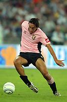 Bari 3/8/2004 Trofeo Birra Moretti - Juventus Inter Palermo. <br /> <br /> Luca Toni Palermo<br /> <br /> Risultati / results (gare da 45 min. each game 45 min.) <br /> <br /> Juventus - Inter 1-0 Palermo - Inter 2-1 Juventus b. Palermo dopo/after shoot out <br /> <br /> Photo Andrea Staccioli